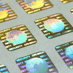 Голограммы - защитные наклейки с персонализацией