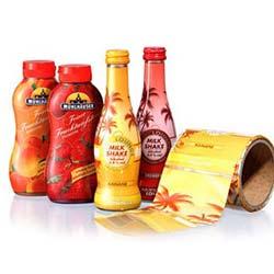 Термоусадочная этикетка - принимают форму любой упаковки