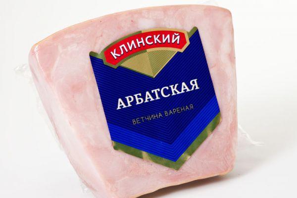 печать наклеек на упаковку колбасы