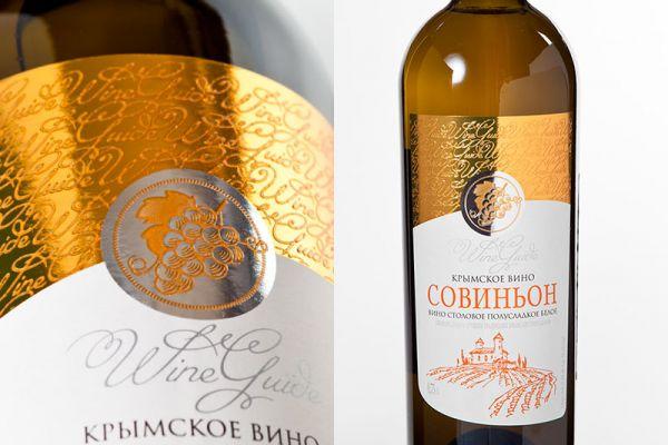 Конгрев на винной этикетке