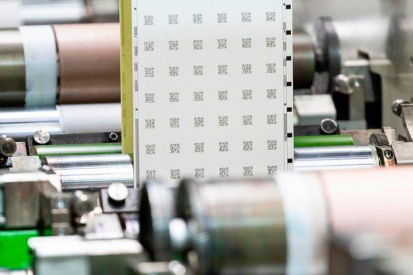 Печать датаматрикс кодов в типографии